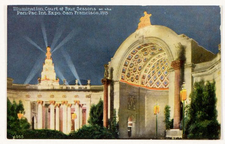 Panama Pacific International Exposition, San Francisco, 1915