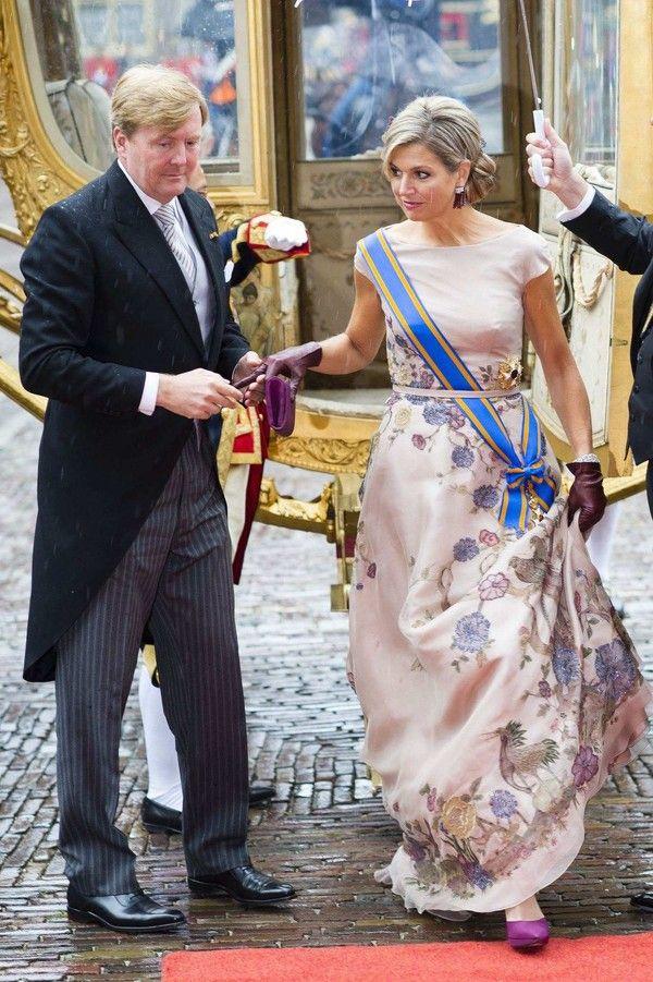 Koningin Máxima draagt Jan Taminiau op Prinsjesdag