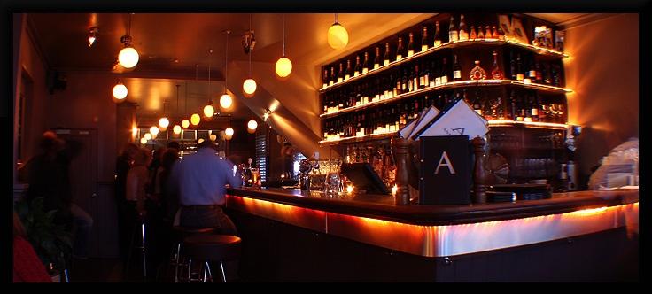 Andiamo Restaurant and Bar, Herne Bay, Auckland, New Zealand.