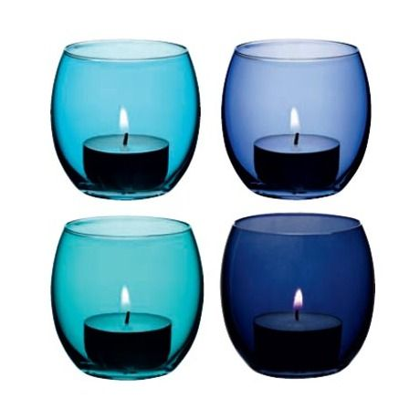 This set of 4 LSA Coro Tealight Holders are perfect to set on your dining table and light when you're sharing a romantic glass of wine with a loved one.