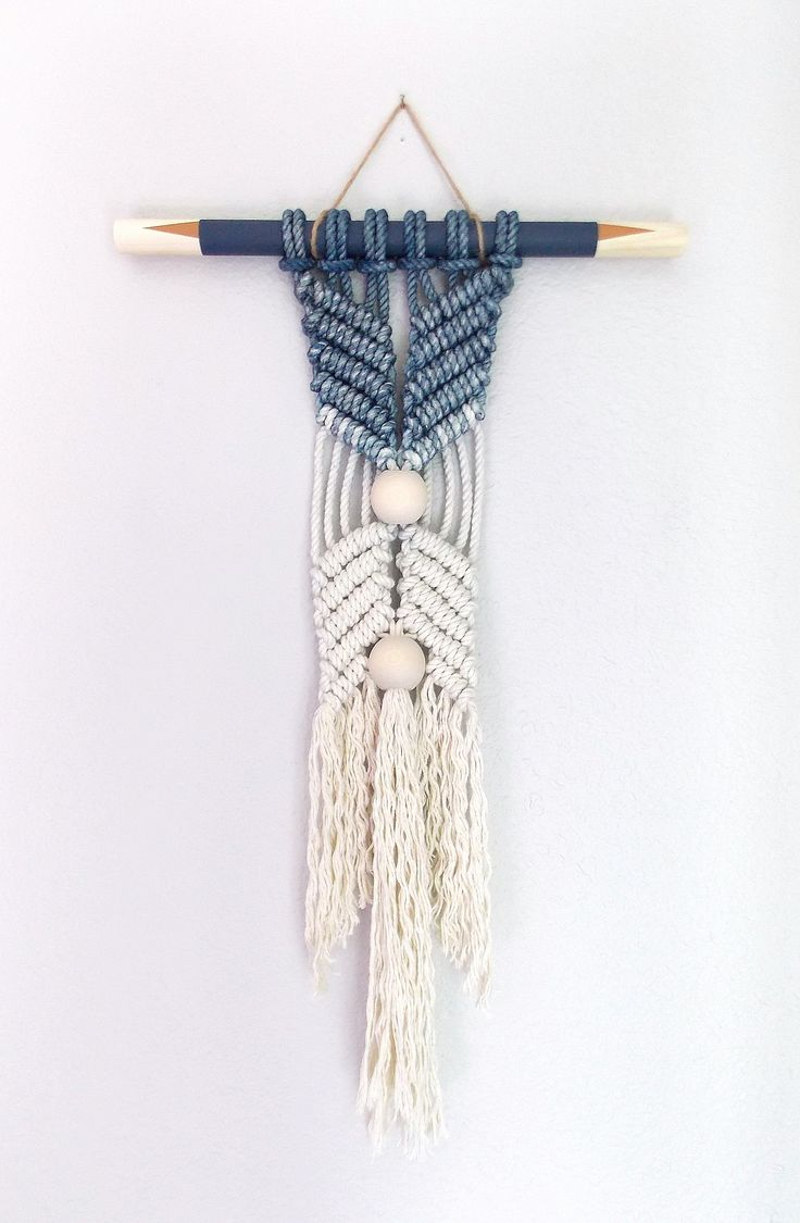 """HIMO ART for Urban Outfitters, Modern Macrame Wall Hanging, Rope art, """"HANE no.3"""""""