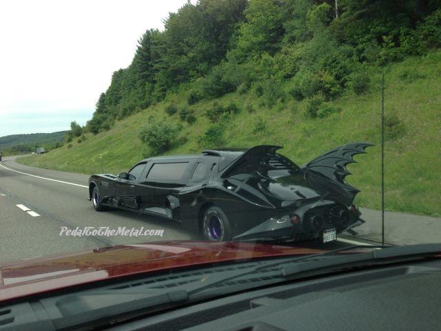 Random Photo: The Batmobile.... Limo?