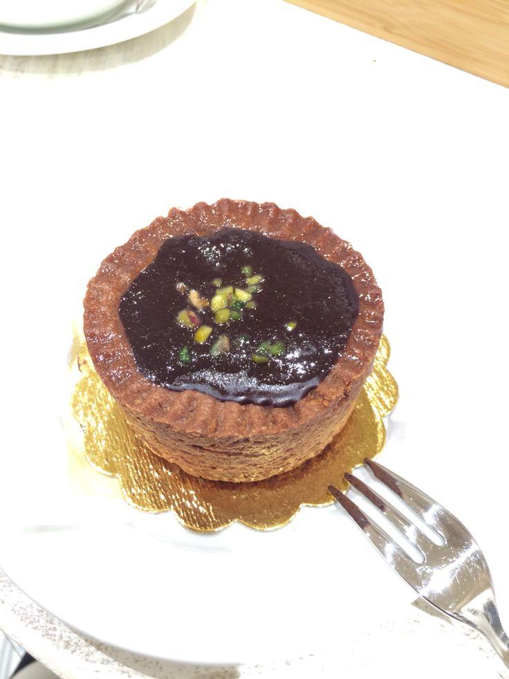 Crosta tina di cioccolato e pera