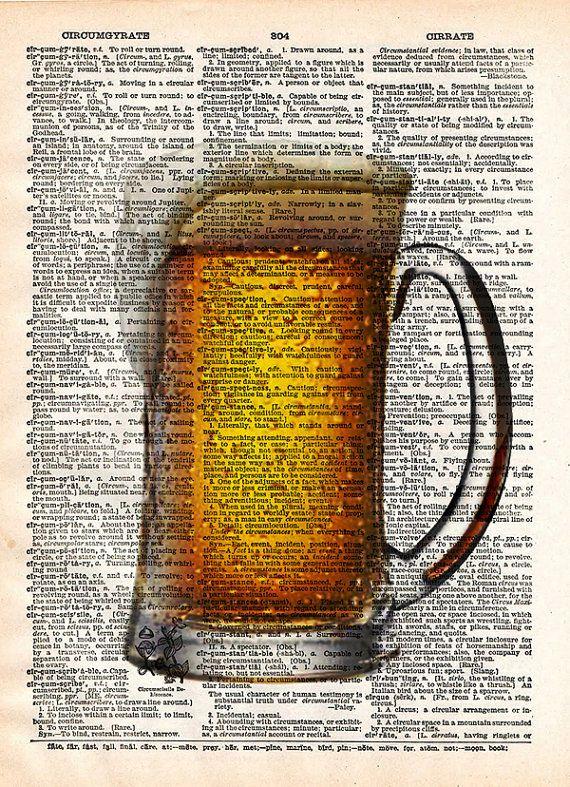 Ijzig bier bier pint kunst, mancave kunst cadeau voor bier liefhebber. Bier, bewijs dat god houdt van ons! Geweldig voor de liefhebber van bier in je leven! Gouden amber, frosty pint, dit afdrukken maakt u nu een ijzig pint wilt!  Deze unieke en originele illustraties zijn gedrukt op authentieke vintage begin 1900 van woordenboek van boeken die ik heb gered uit boekhandelaren die besloten ze waren in onwaardige voorwaarde en bestemd is voor vernietiging.  Opmerking: Items komen niet in een…