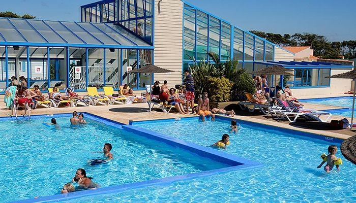 Le vaste parc aquatique du Camping Les Dunes ***** en Vendée