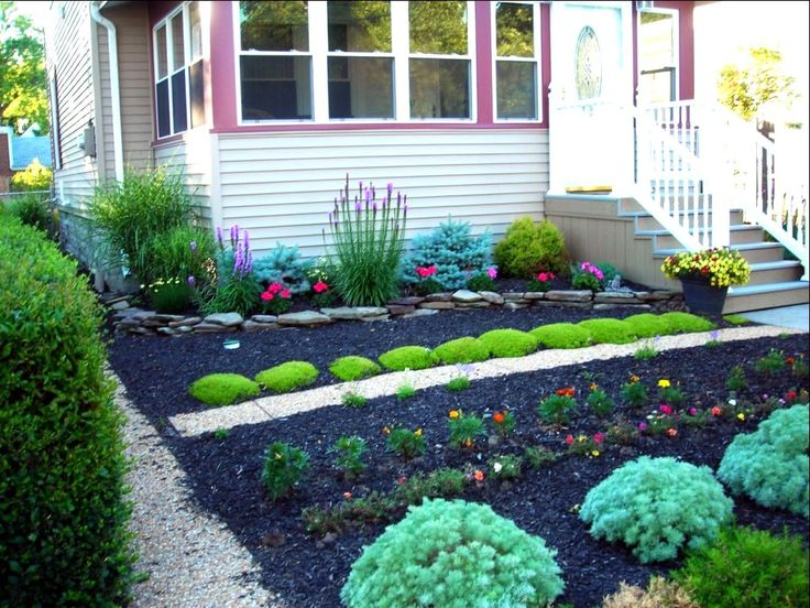 No Lawn Small Front Yard Landscaping Ideas Very Small