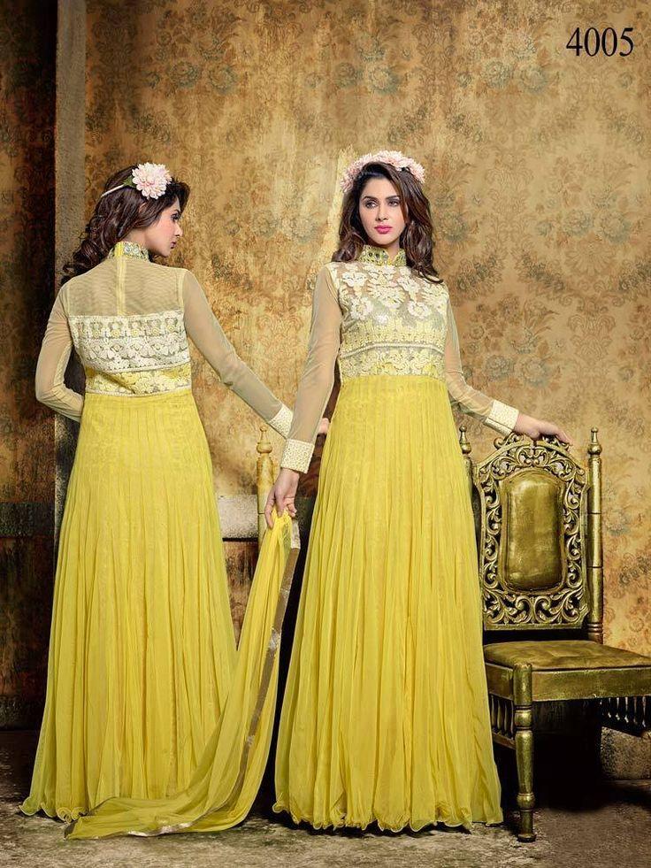 Bollywood Salwar Designer Anarkali Party Indian Kameez Pakistani Wedding Suit  #KriyaCreation