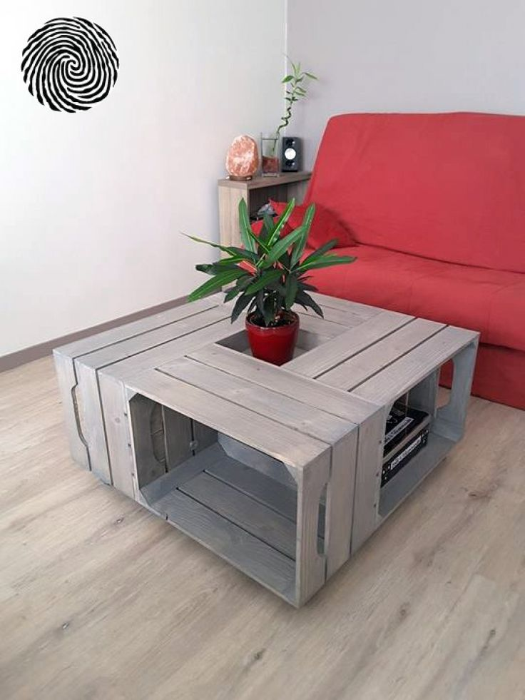 Table basse 4S-I - Simply a Box