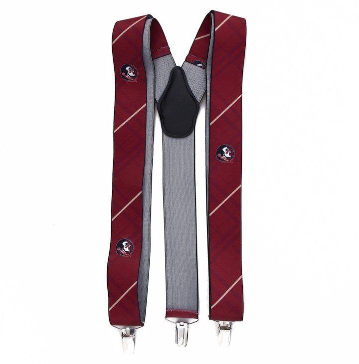 Kohl's Men's Florida State Seminoles Oxford Suspenders
