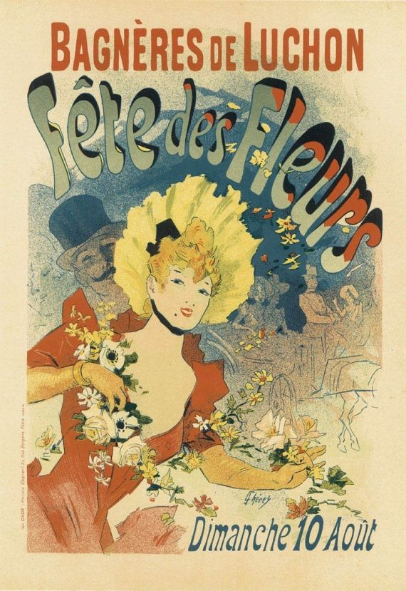 Belle Epoque Print High Quality Reproduct ANTIQUE FRENCH ADVERTISEMENT Print