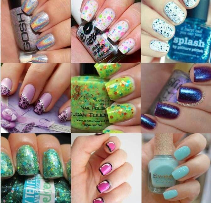 Mejores 146 imágenes de Nails en Pinterest   Estilos de maquillaje ...