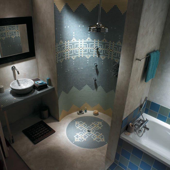 C\'est un hammam ou juste une salle de bain ? En tout cas, avec de la ...