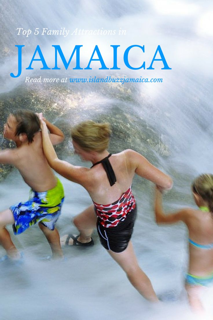 Stop by our blog to read about the Top 5 Family Attractions in Jamaica