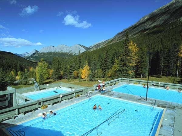 Miette Hot Springs, Jasper, AB