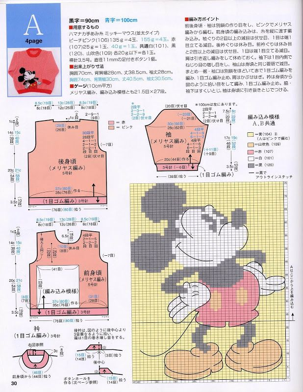 Disney Characters Sweater Book vol.2