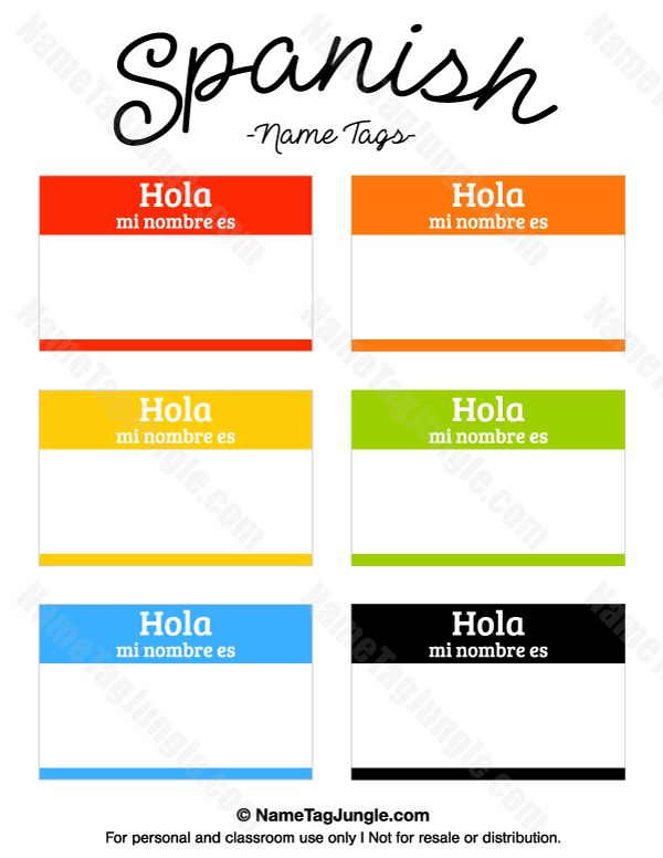 Best  Name Tag Templates Ideas On   Kids Name Tags