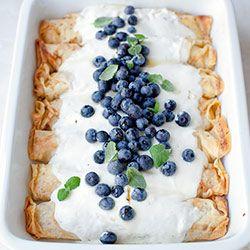 Naleśniki zapiekane z serem i owocami   Kwestia Smaku