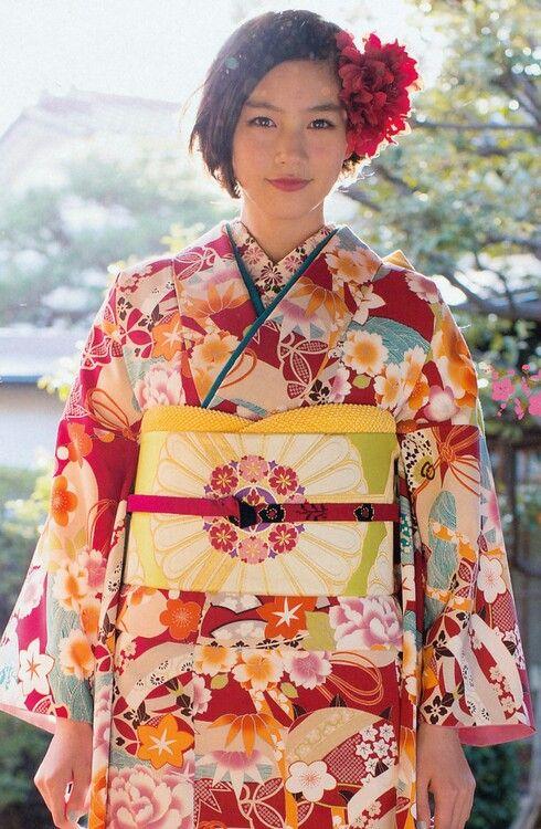 振袖 kimono