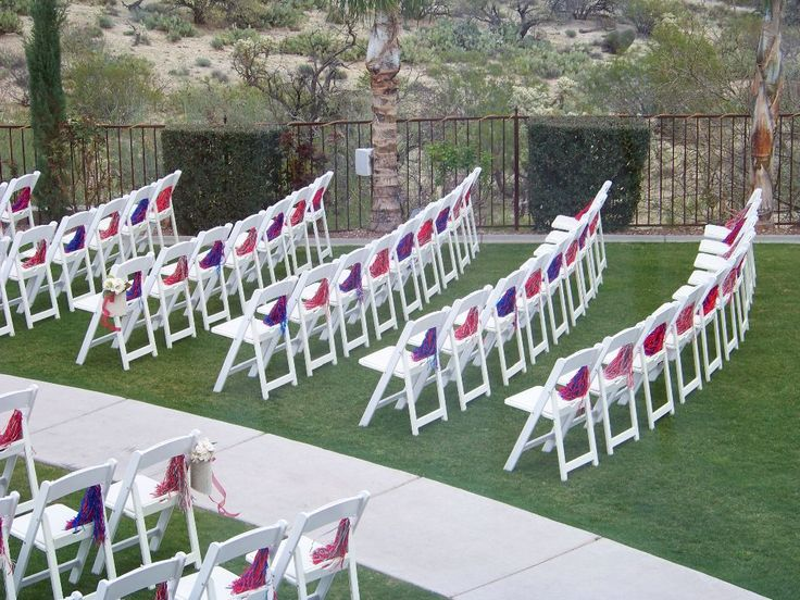 Brown Chairs Outdoor Ceremony Decorations: 54 Best Images About White Resin Padded Chairs On