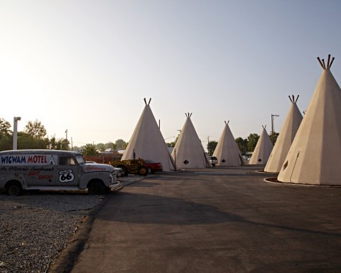 The Wigwam hotel (and a US Road Trip itinerary--with a 7-year old!)
