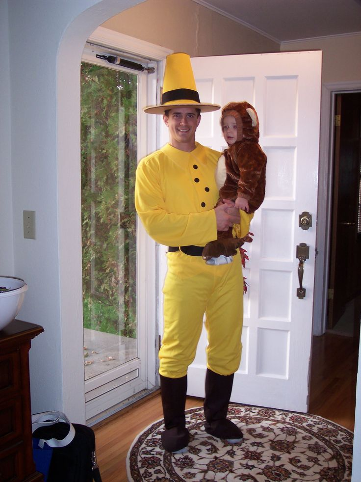 One of the cutest parent/child halloween costume ideas I've ever seen!