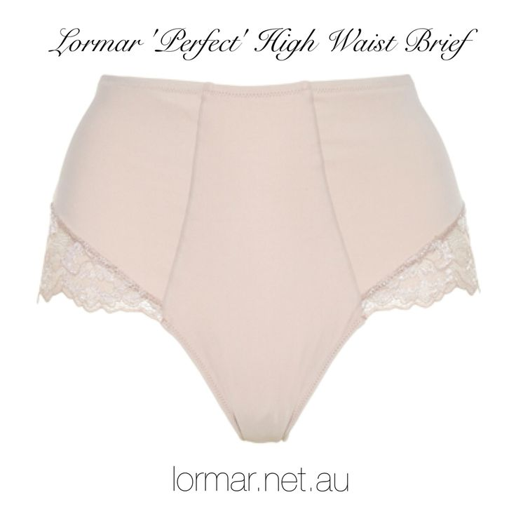 Lormar Perfect High Waist Brief -only $34.95! Buy online at lormar.net.au x