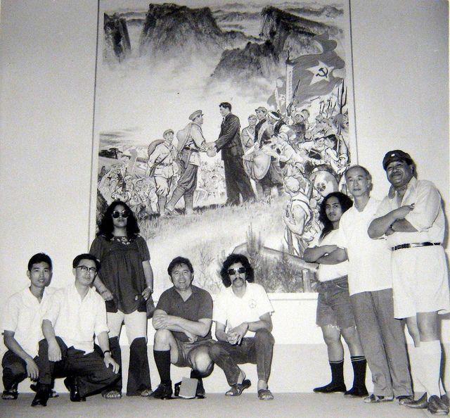 In the early 70s, Hone Tuwhare, renowned writer, Miriama Rauhihi, Polynesian Panther, Tame Iti, activist from Nga Tamatoa, visit China under...