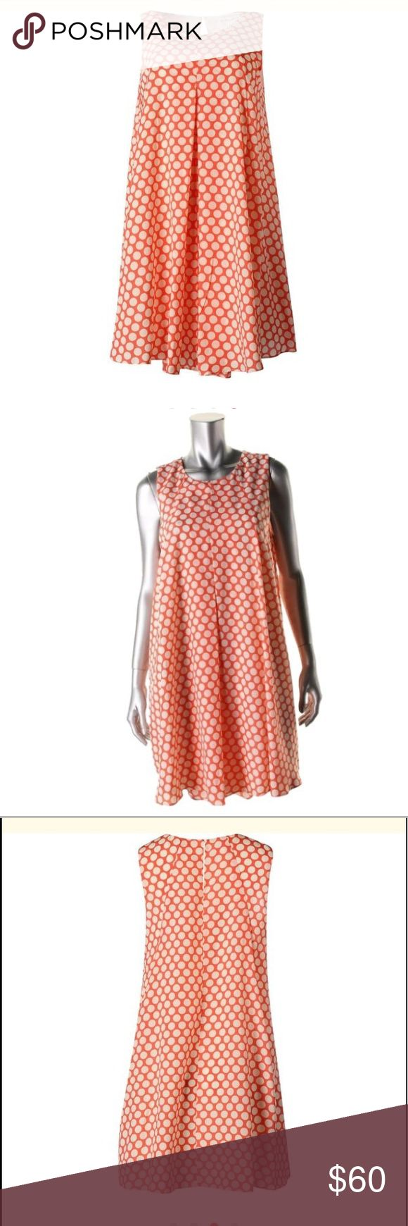 BCBGeneration  Pink Chiffon Polka Dot BCBGeneration  Pink Chiffon Polka Dot Sleeveless Casual Dress S   Manufacturer: BCBGeneration  Size Origin: US  Manufacturer Color: Salmon Wine Combo  Condition: New with tags  Style Type: Shirt Dress  Collection: BCBGeneration  Silhouette: Shift  Sleeve Length: Sleeveless  Closure: Hook/Eye Closure  Dress Length: Above Knee, Mini  Total Length: 34 Inches  Bust Across: 17 Inches  Waist Across: 20 Inches  Hips Across: Inches  Material: 100% Polyester…