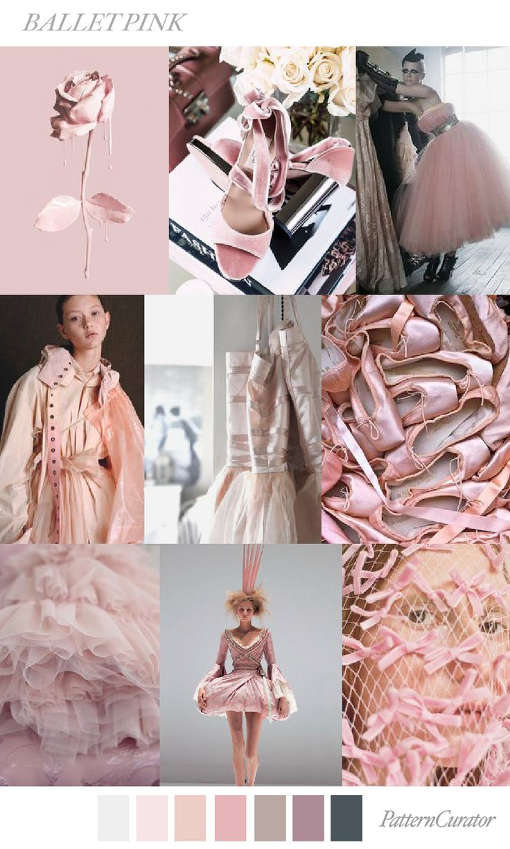 BALLET PINK by PatternCurator