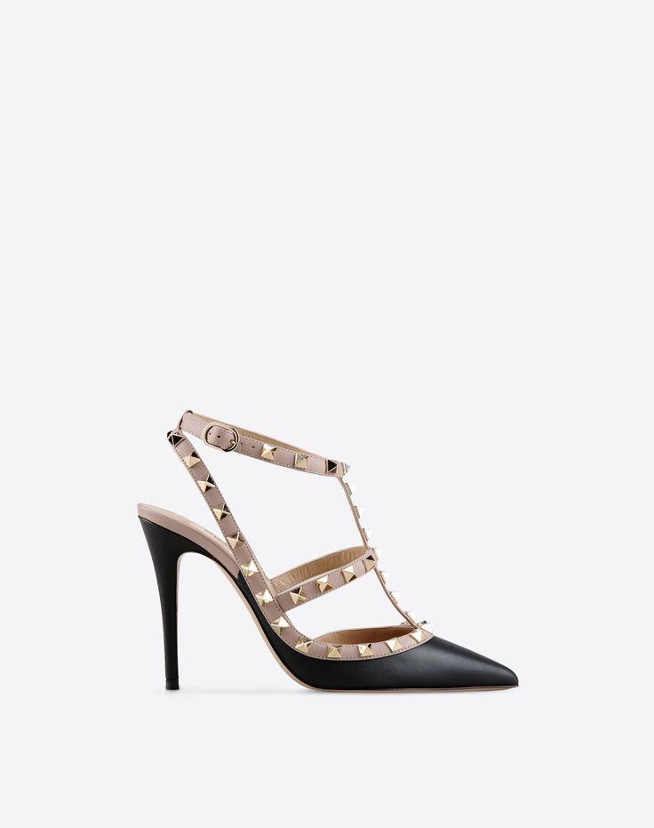 Chaussures à Bride Cheville Rockstud, Escarpin Femme Valentino Garavani | Valentino