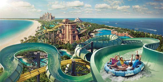 Aquaventure Waterpark at Atlantis The Palm Dubai