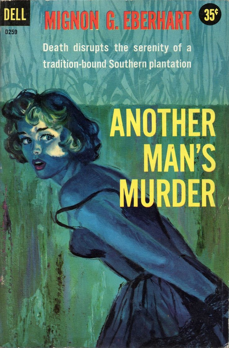"Al Brule cover art, ""Another Man's Murder,"" Dell, 1959..."