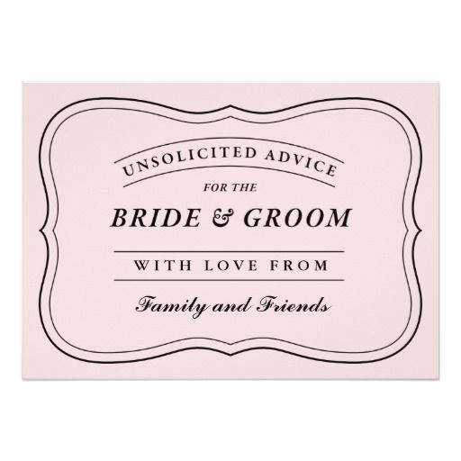 Funny Advice For The Bride And Groom | Midway Media