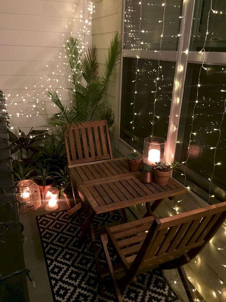 78 + Comfy Apartment Balkon Dekorieren Ideen mit kleinem Budget
