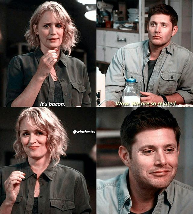 [12.03] I thought this was so cute to throw in and I love how Dean got so excited that he was like his mom (,: . QOTD: if your parents were supernatural characters- based on your personality, who would your parents be? . Aotd: probably sam and charlie . . . If you haven't already, be sure to click the link in my bio and download Showgo! The app is an interactive way for the spnfamily worldwide to watch, react, and share with other fans! I use the app every week with my followers and…