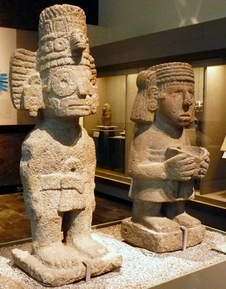 Aztec Statue | Aztec Olmec and ancient South America in ...
