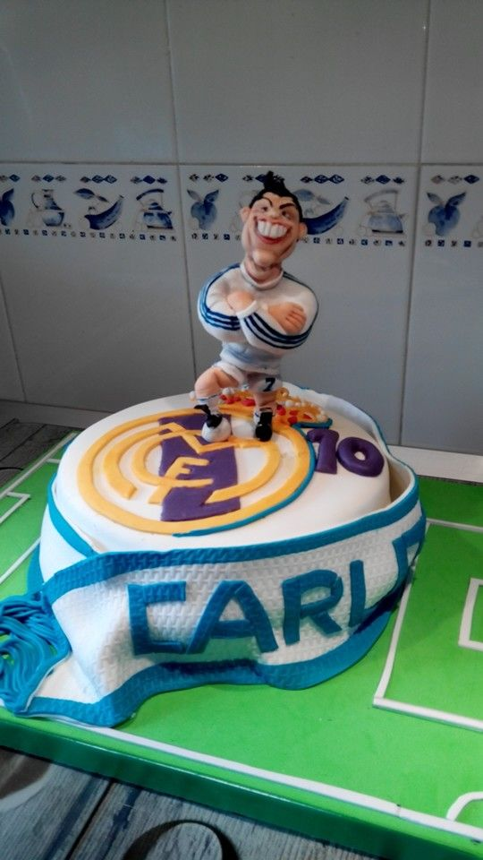 real madrid cake tarta real madrid cristiano ronaldo my cakes 6971