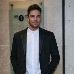 X Factor winner Matt Terry leaving BBC Radio One studios in London