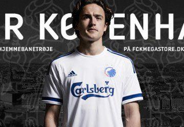 FC Copenhagen 2015/16 adidas Home Kit