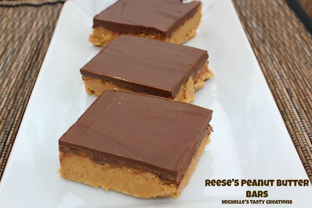 Michelle's Tasty Creations: Reese's Peanut Butter Bars