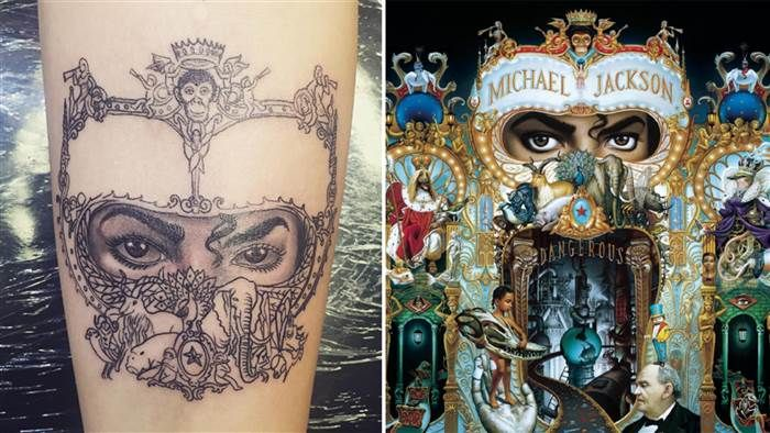 Paris Jackson Gets New Michael Jackson Tattoo in Honor of Late Father