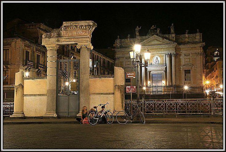Piazza Stesicoro catania Sicilia