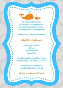 Baby Shower Invitation Wording For Male And Female  Baby Shower Invitation Words