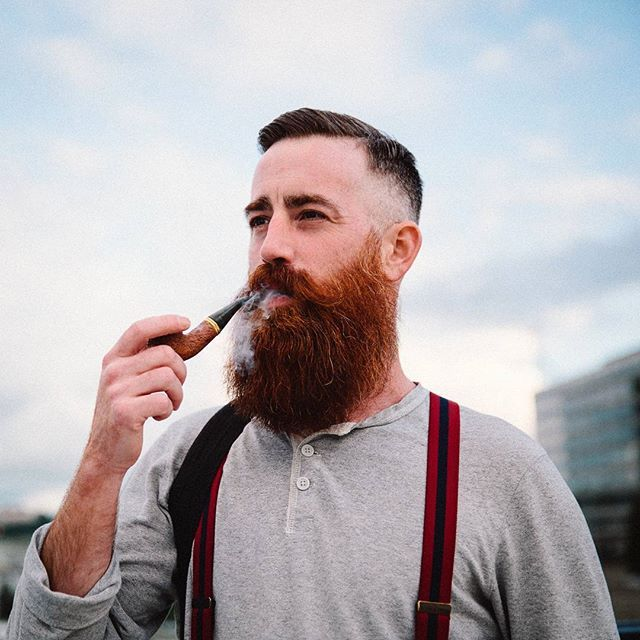 Michael (@dept of redundacy dept) is rocling a pretty cool #beard and it's our #beardbrandPOTD. Share your beard and a little info about yourself with us by using #beardbrand, #beardbrandPOTD, or by e-mailing us your beard at its best via submissions@beardbrand.com. #beards #urbanbeardsman