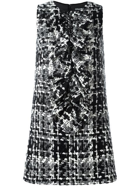 Shop Dolce & Gabbana tweed dress in Tessabit from the world's best independent boutiques at farfetch.com. Shop 400 boutiques at one address.