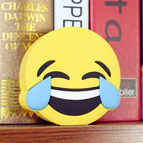 Funny Emoji Power Bank Fashion Powerbank Charger