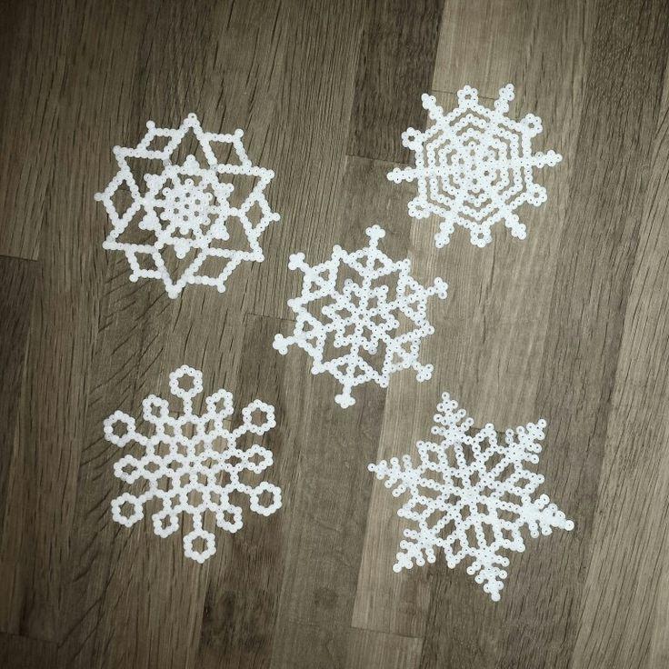 Snefnug hama miniperler