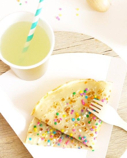 Shake My Blog | Des crêpes confettis