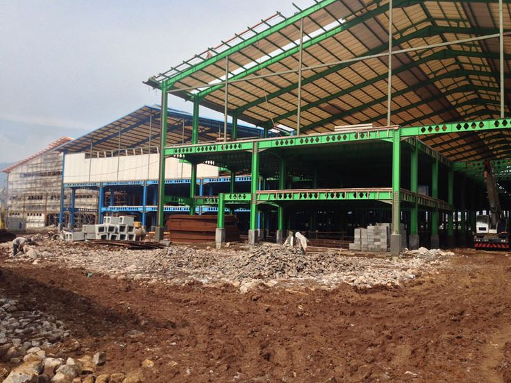 Toys Factory - HCS, Pile, Precast Concrete Fence - Bandung