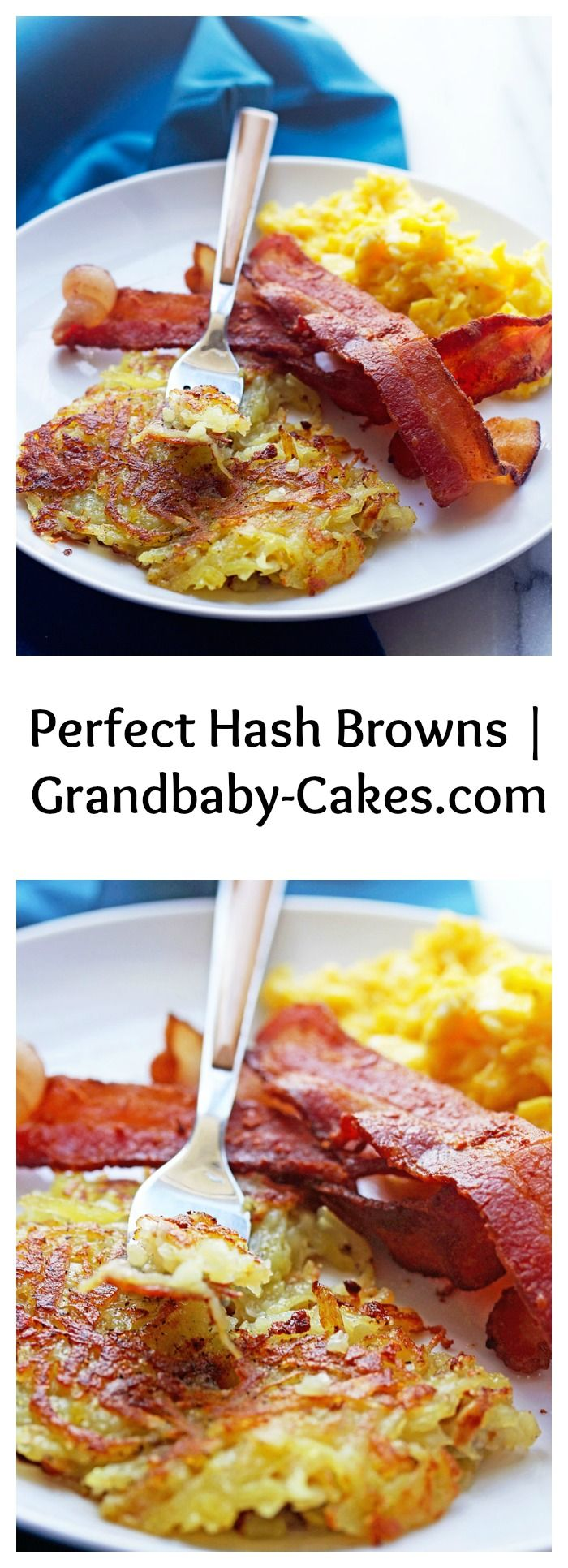 how to make stringy hash browns